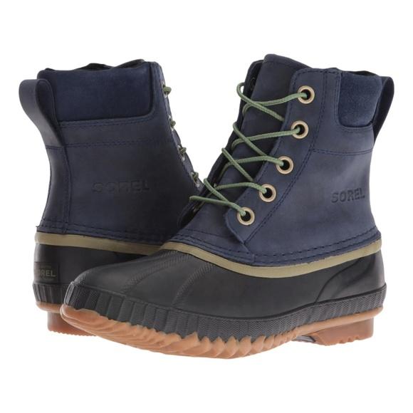 3543416f04c Sorel mens Cheyanne Lace waterproof duck boots NWT